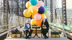 Up! para comemorar 61 anos de casados