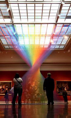 On the Creative Market Blog - Rainbows Take Shape Through These Stunning Art Installations