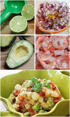 Zesty Lime Shrimp and Avocado Salad | Bake a Bite