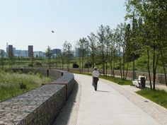 Water-retention Boulevard | Luxembourg | ELYPS Landscape + Urban Design