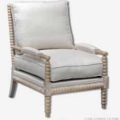 kensington spool bobbin armchair - Google Search