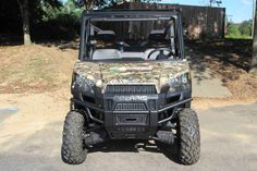 New 2017 Polaris Ranger XP® 900 Camo ATVs For Sale in South Carolina. Polaris Pursuit Camo High output 68-horsepower ProStar® engine Smooth riding suspension travel and refined cab comfort Industry exclusive Pro-Fit cab integration