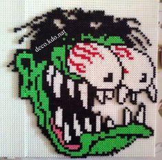 Monster Halloween hama perler beads by DECO.KDO.NAT