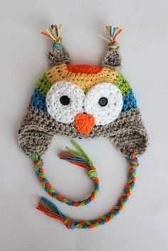 One day I will master not only the art of crocheting but also the art of crocheting things that look like adorable owls.