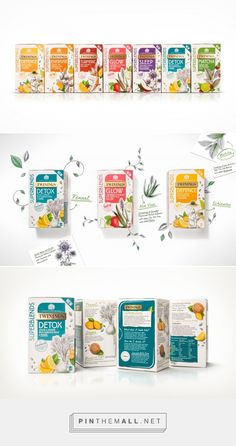 Twinings SuperBlends on Packaging of the World - Creative Package Design Gallery - created via https://pinthemall.net