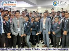JNtech Networks has conducted a one-day Industrial visit program for the IFTM Moradabad, at JNtech Networks, Noida. Industrial Visit was completely based on the Core Networking, as we have a world-class lab facilities. In the Industrial visit, Lecture was conducted by Mr. Jittu Jaiswal (Founder and the Network Security Specialist at JNtech Networks) and Mr. Pawan Mishra(Technical Trainer at JNtech Networks).