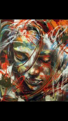 Geweldig mooi graffiti werk