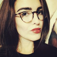 @lauraaliceholland wears our best selling Oliver Peoples frame Riley via Instagram