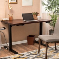 Carolina 48 Height Adjustable Desk With Dual Powered Base