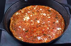 Clean Eating - Tomato Frittata