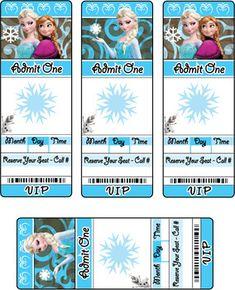 Invitations 2, Frozen, Invitations - Free Printable Ideas from Family Shoppingbag.com
