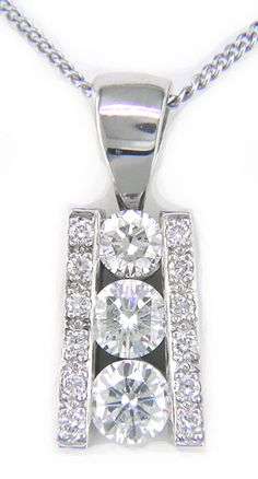 Diamond pendant from Hannoush Jewelers | www.Hannoush.com for locations
