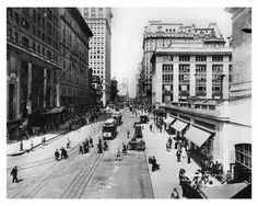 Outside of Grand Central - 42nd Street & Vanderbilt Ave - Midtown -  Manhattan 1913