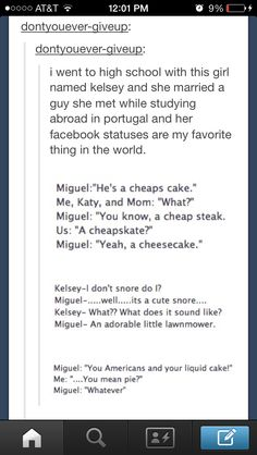 I'm studying abroad this summer and all I can say is I better find an sexy Spaniard to say adorable things like this!