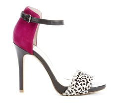 animal print and fuchsia