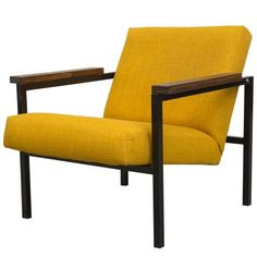 Martin Visser Attributed Lounge Chair | From a unique collection of antique and modern lounge chairs at https://www.1stdibs.com/furniture/seating/lounge-chairs/