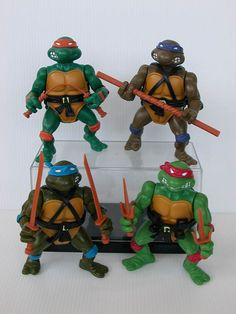 Could get him a set of Teenage Mutant Ninja Turtles, I understand they're all the rage at the minute (again).