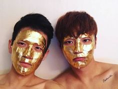 This Gold Foil Mask from Cliv works to brighten and even out your skin tone while you look like a damn royal.   15 Inexpensive Face Masks That'll Make You Feel Like A Million Bucks