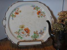 Pottery Harker Serving Dish Ceramic Floral by RegalRabbitVintage