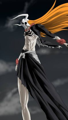 ichigo, sword, bleach, hollow, weapons, wave, anime manga wallpaper for android, iphone and whatsapp