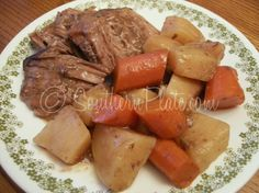 Tender Roast and Veggies - We're Movin' On Up!