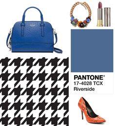 "Complementos para un look ""Ojo de perdiz"": Bolso (Kate Spade), Collar (Sweet Coquette), Barra de Labios Tono Crisis (Urban Decay) y Zapatos (Steve Madden)"
