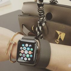 This Is How People Are Wearing the Hermès Apple Watch