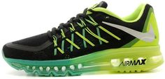 Air Max 2015 Green Black Blue