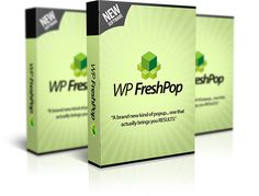 WP Fresh Pop is a powerful WordPress Plugin allows you create extremely attractive popups with Youtube Videos. #Wordpressplugin #makemoneyonline #internetmarketing