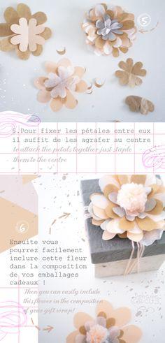 Bohème Circus: DIY flower wrapping