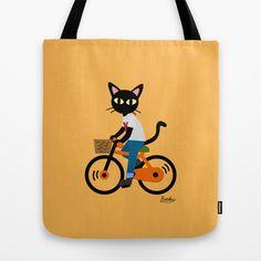 Summer cycling Tote Bag by BATKEI