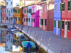 Beautiful Burano - one of the Venetian islands