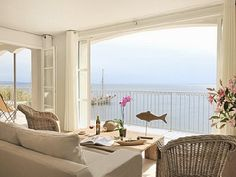 Apartment with sea views in France