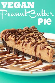 Vegan Peanut Butter Pie - Loving It Vegan