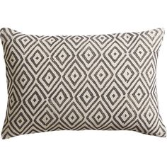 "diamond lattice 18""x12"" pillow  