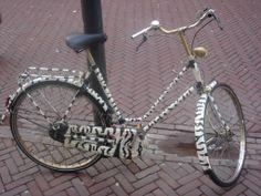 zebra bicycle