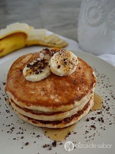 Hot cakes de avena (panquecas) www.pizcadesabor.com