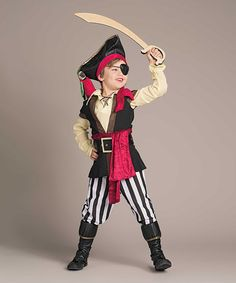 Look at this #zulilyfind! Pirate Scoundrel Dress-Up Set - Kids #zulilyfinds