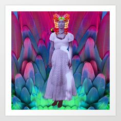 20% OFF+FREE WORLDWIDE SHIPPING ON EVERYTHING TODAY #meditation #bohostyle #bohosoul #yoga #reiki #popart #wall #art https://society6.com/product/my-frida-my-heroine_print?curator=azima
