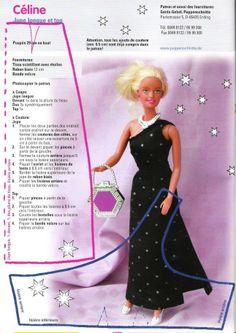 One shoulder dress - Celine