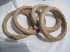Slender unfinished wood bangles #woodbangles #unfinishedwoodbangles #banglewoodcrafts  http://www.banglewoodcrafts.com/shop/