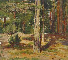 Ivan Shishkin - Pines
