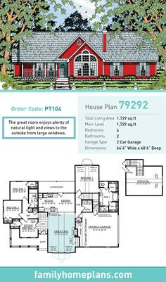 107 Best Country House Plans images in 2019 | Southern home