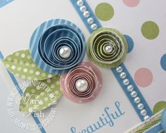 Mojo Monday  A Paper Quilling Video Tutorial - Mary Fish, Stampin ...