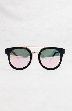Brooklyn Sunglasses - Black/Pink