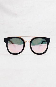 Brooklyn Sunglasses - Black/Pink