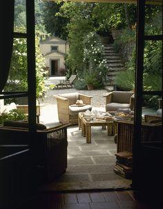 La terrasse idéale pour un petit café
