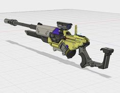 ANA HORUS RIFLE overwatch 3d files