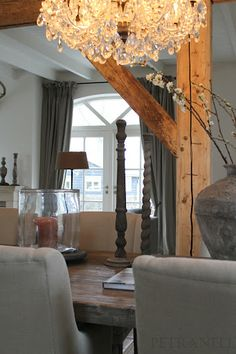chandelier--wood