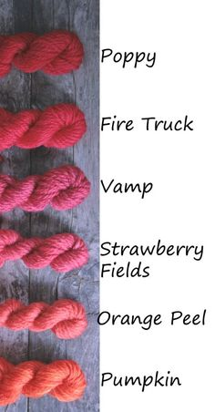 Red/Orange Strawberry Fields, Orange Peel, Fire Trucks, Poppies, Pumpkin, Crochet, Red, Crochet Hooks, Buttercup Squash